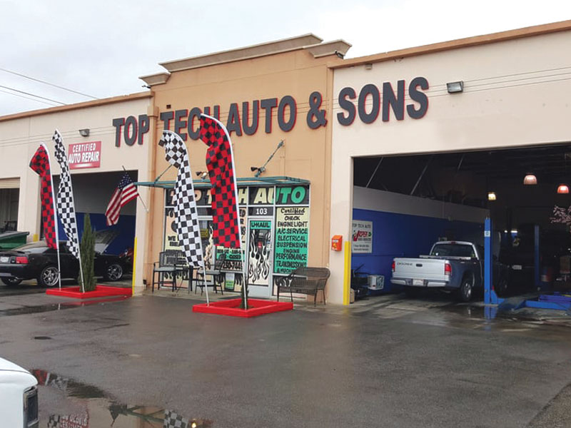 Top Tech Auto & Sons - Business Image